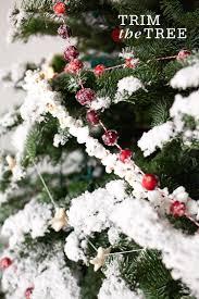 Easy Diy Christmas Tree Garland Four Homemade Garlands For Your Christmas Tree