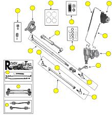 97 jeep wrangler parts steering wrangler 97 06 crown automotive sales co