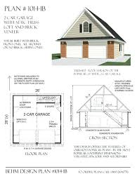 free 2 car garage plans small house plans with loft and garage 2 car garage loft plan 007g
