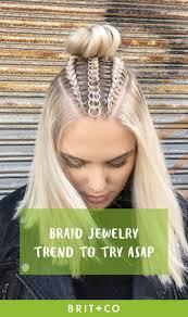 best 25 hair jewelry for braids ideas on diy hair