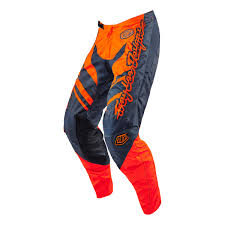 troy lee motocross helmets 2016 troy lee gp mx motocross pant flexion orange grey 2016
