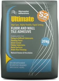 Vinyl Floor Tile Adhesive Remover Flooring Tilemaster Ultimate Highly Flexible Fast Set Wall Floor
