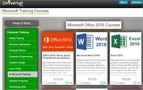 universal online class learn microsoft office with these 20 online tutorials and