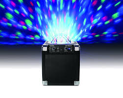 ion portable speaker system with party lights ion audio house party ipa18l portable sound system with built in