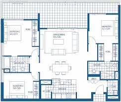 three bedroom flat floor plan beautiful three bedroom apartment floor plans photos liltigertoo