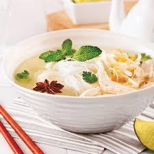 cuisiner vermicelle de riz soupe vietnamienne au poulet et vermicelles de riz recettes