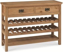 Wine Buffet Table Wine Rack And Buffet Table Several Ideas Of Wine Rack Table To