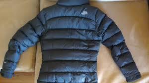 fs north face women s nuptse 2 jacket small black 140