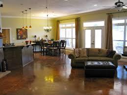 floor plans open concept open floor plan kitchen and living room pictures