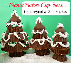 peanut christmas tree reese s peanut butter cup christmas trees the original plus two
