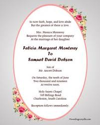 christian wedding cards wordings christian wedding invitation wording sles wordings and