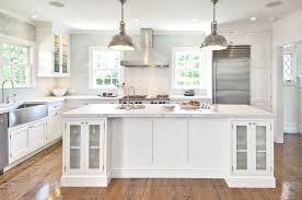 dark island bench blk brown tropical style shaker kitchen house