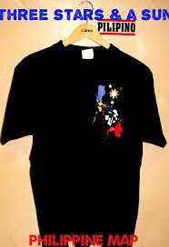 kultura ng 3 and a sun with philippine map shirt
