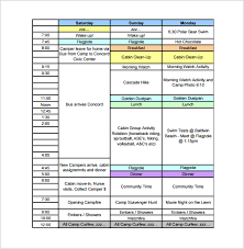 business plan schedule template 11 business timeline templates