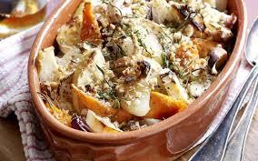 cuisine hiver gratin de légumes d hiver au chèvre cuisine et recettes recette