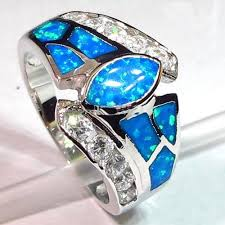 opal rings wholesale images 222 best fire opal blue images fire opals silver jpg