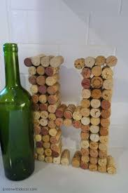 green with decor an easy diy project with wine corks