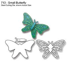 713 small butterfly dies by elizabeth craft designs