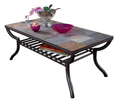 coffee table fabulous black metal coffee table wood and iron
