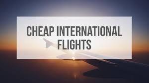 cheap flight tickets international cheap airline tickets