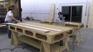 Tool Bench Plans Bench Plywood Bench Plans Outdoor Wood Bench Post Mounted