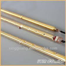 jacket halogen infrared heating lamp with gold coated global sources