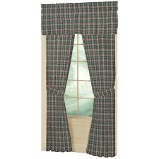 Green And White Gingham Curtains by Window Curtain Patch Magic