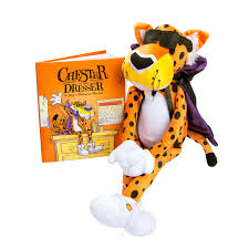 cheetos chester on the dresser halloween book with chester cheetah