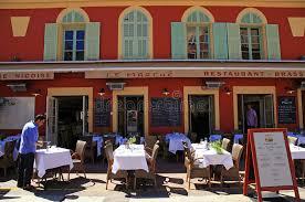 restaurant cuisine nicoise restaurants on the cours saleya editorial