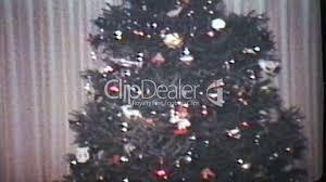 putting presents under christmas tree 1978 vintage 8mm film