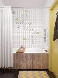 Scandinavian Shower Curtain by The 45sqm Nest Of Comfort Decoholic