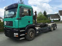 man tga 26 360 bl 6x4 roll off tipper automarket