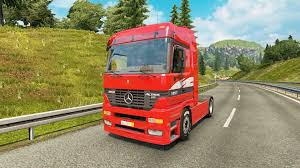 mercedes benz actros mp4 red mercedes benz actros mp1 v2 1 for euro truck simulator 2