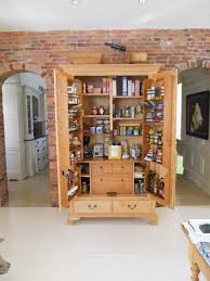 Narrow Kitchen Pantry Cabinet Kitchen Cherry Wood Pantry Cabinet Rustic Pantry Cabinet Pull