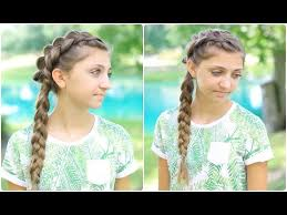 5 easy back to hairstyles cute girls hairstyles youtube