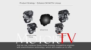 mazda motor corp technology mazda u0027s skyactive x u0026 long term vision for tech