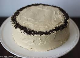 chocolate cake with peanut butter buttercream frosting chez