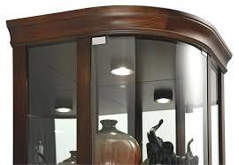 glass corner curio cabinet curved corner cabinet oak corner curio cabinet curved glass