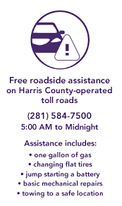 harris county toll road map harris county toll road authority