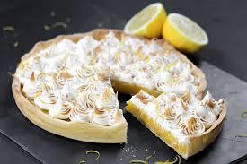 cuisine tarte au citron recette tarte au citron meringuée