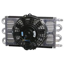 oil cooler with fan 6 pass oil cooler coil 8 electric fan assembly maxi cool jr