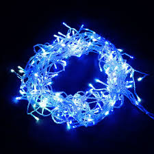 800 led christmas icicle lights string outdoor fairy party wedding