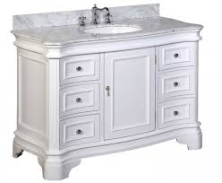 48in Bathroom Vanity by 48 Inch White Free Standing Vanities For A Bath Renovation