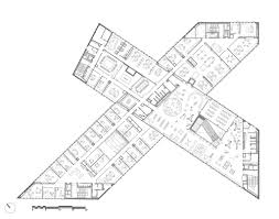 Alexis Condo Floor Plan Open To The Public New Library Of Caen Designed By Oma And