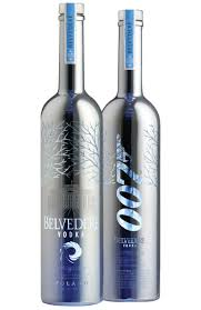 martini belvedere excellent choice mr bond limited edition 007 belvedere bottles