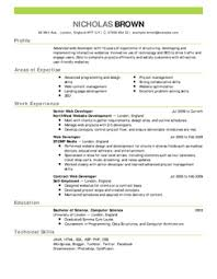 Resume For All Jobs by Attractive Ideas Sample Of A Resume 1 Free Samples Writing Guides