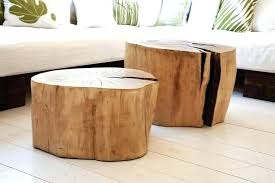 wood stump coffee table tree trunk bedside table natural tree stump side table saved