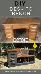 best 25 repurposed desk ideas on pinterest shutter projects