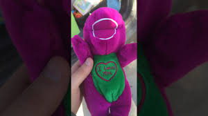 spooky barney doll youtube