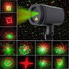 laser lights christmas laser light shower 24 patterns projector effect